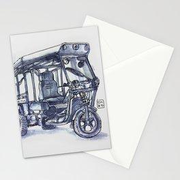 vietnam 3 wheelers Stationery Cards