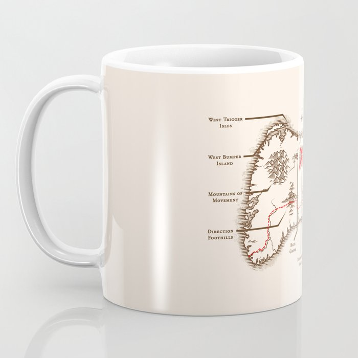 Controller Map Coffee Mug