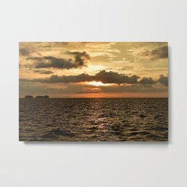 Sunset at Tamarindo Metal Print