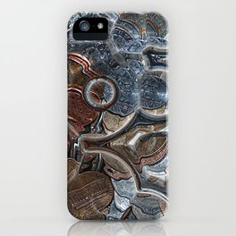 Abstract Coins iPhone Case