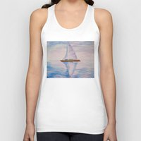 serenity Tank Tops featuring Serenity by Ana Lillith Bar