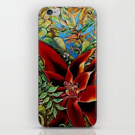 The Red Flower: Julie Northey iPhone Skin