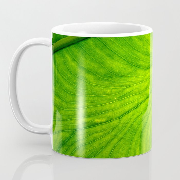 Leaf Paths Coffee Mug