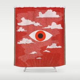 Safety Matches: Psyche Shower Curtain