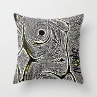 camo Throw Pillows featuring Camo by Helen Syron