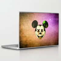 mickey Laptop & iPad Skins featuring Mickey by wrong planet