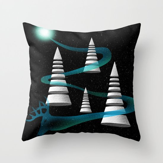 The Other Side Of The Galaxy Throw Pillow