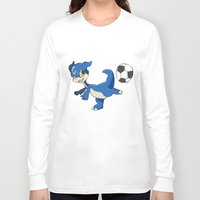 digimon Long Sleeve T-shirts featuring Digimon - V-mon by Hacha