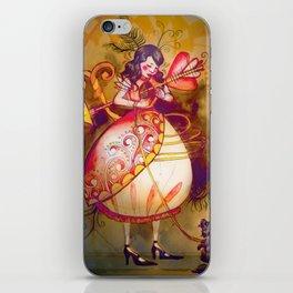 Love in Wonderland iPhone Skin