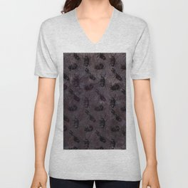 when the lights go out Unisex V-Neck