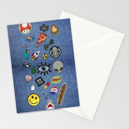 Patch Extravaganza Stationery Cards