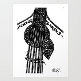 Fado Guitar Art Print
