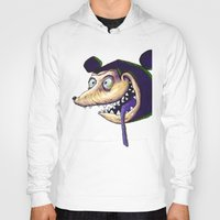 mike wrobel Hoodies featuring Mike  by Crooked Octopus