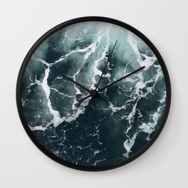 Wave Patterns Wall Clock