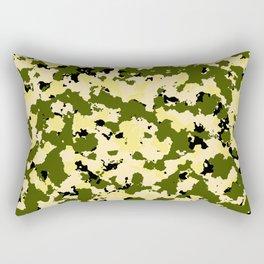 Bad Ass Yellow Rectangular Pillow