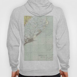 Vintage Map of Atlantic City NJ (1941) Hoody
