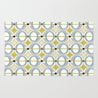 airplane Area & Throw Rugs featuring airplane by ottomanbrim