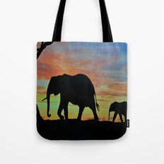 Elefants Tote Bag