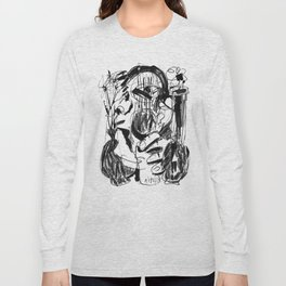 Vases - b&w Long Sleeve T-shirt