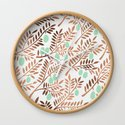 Olive Branches – Rose Gold & Mint by catcoq