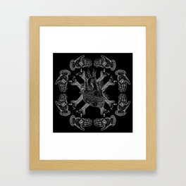 Mala Vida Framed Art Print