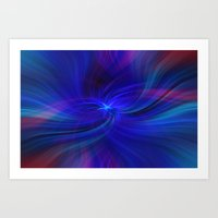 Colorful Abstract. Concept Peace of Mind Art Print
