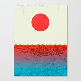 Fukushima Canvas Print