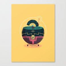 :::Mini Robot-Sfera1::: Canvas Print