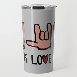 Rock Love Peace Travel Mug