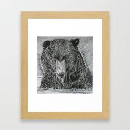 water bear Framed Art Print