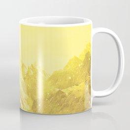Mountains Yellow Coffee Mug