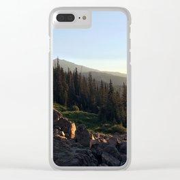 Upper Ouzel Creek Clear iPhone Case