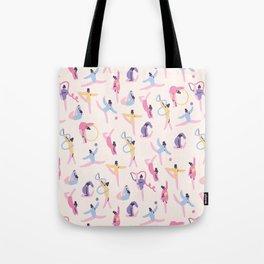 Rhythmic Gymnastics Tote Bag
