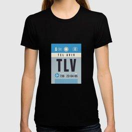 Baggage Tag A - TLV Tel Aviv Israel T-shirt