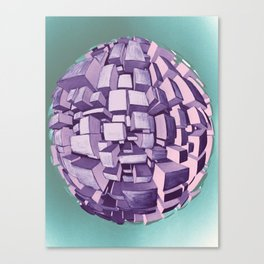 CIRCLECITY Canvas Print