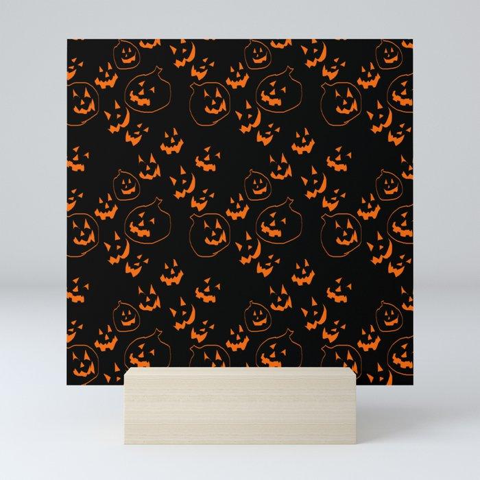 Jack O Lanterns Mini Art Print