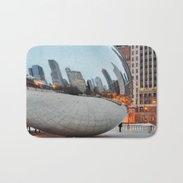 Chicago Bean - Big City Lights Bath Mat