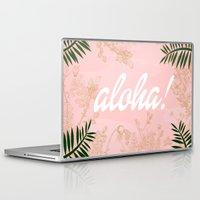 aloha Laptop & iPad Skins featuring ALOHA by Gallerine