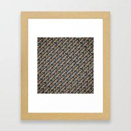 Strange Fibers In the Fabric Of Time Framed Art Print