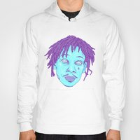 wiz khalifa Hoodies featuring WIZ by Mitch Meseke