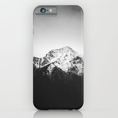 Black and white snowy mountain iPhone 6s Slim Case