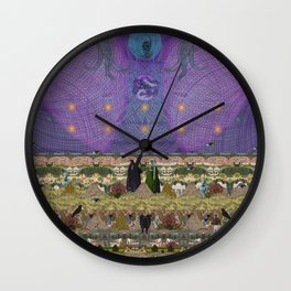 new earth rituals Wall Clock