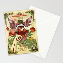 STRAWBERRY COUGH Stationery Cards