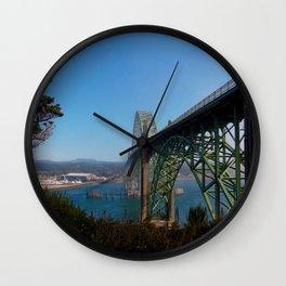 Cross Over Into Paradise Wall Clock