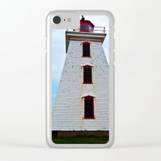 Lighthouse of Cape Egmont and the Strait Clear iPhone Case