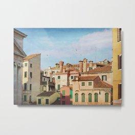 A Venetian View Metal Print