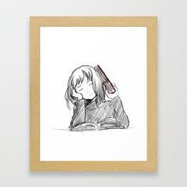 study? Framed Art Print