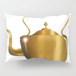 Victorian Copper Kettle Pillow Sham