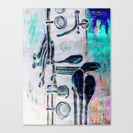 Clarinet 3.0 Canvas Print
