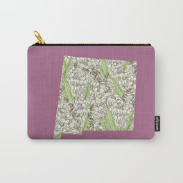 New Mexico in Flowers Carry-All Pouch